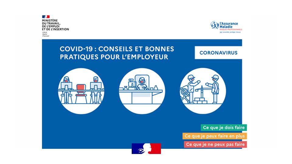 COVID19 : Conseils et bonnes pratiques pour l'employeur | Santé Travail en Limousin